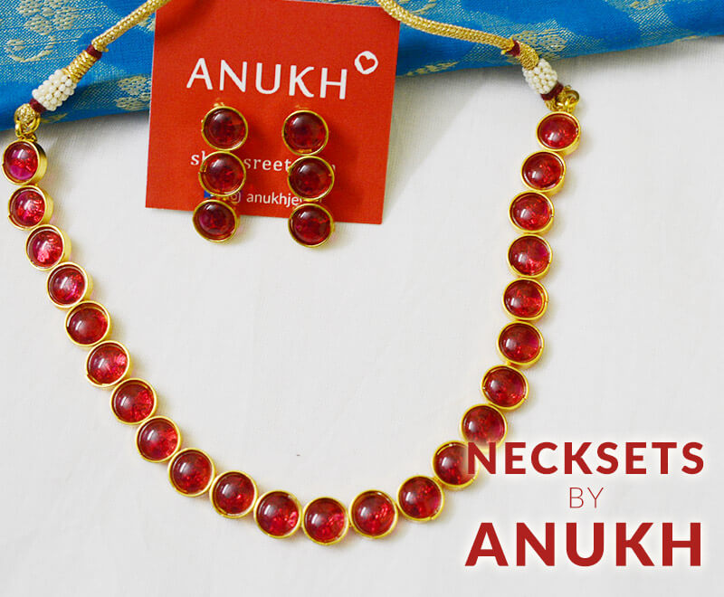 Necksets by Anukh Jewel manufacturer shopping